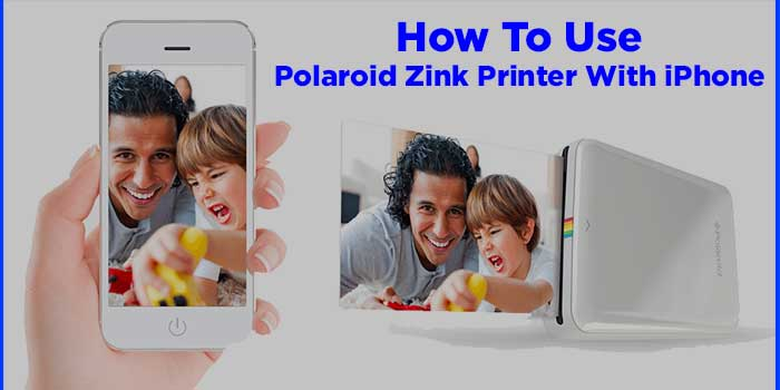 How To Use Polaroid Zink Printer With iPhone